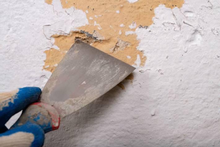 comment enlever peinture sur un mur