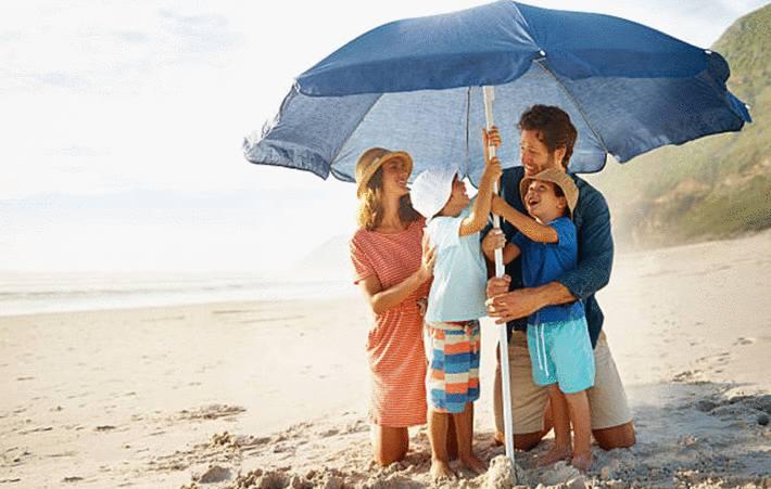 nettoyage et entretien du parasol