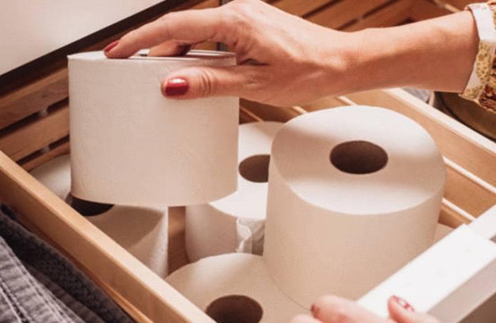 comment aménager des rangements dans les WC