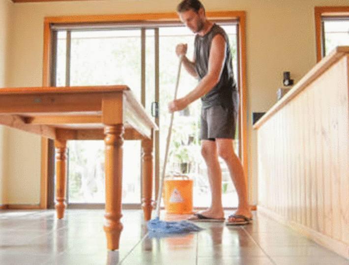astuce pour nettoyer un sol en grès