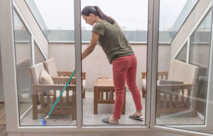 comment nettoyer et entretenir son balcon