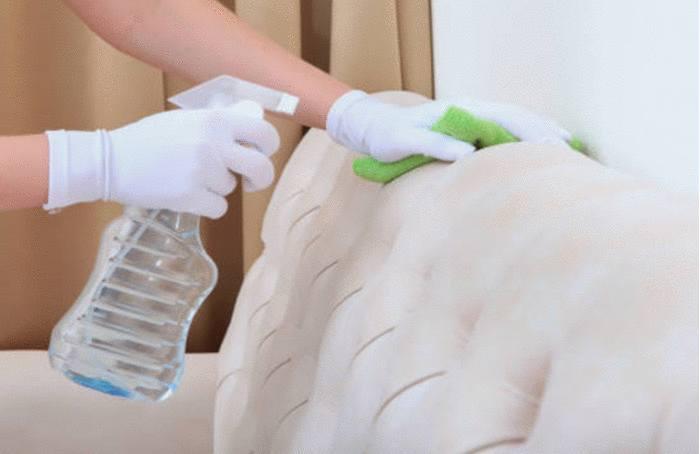 nettoyage et entretien canapé tissu