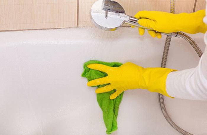 quel produit naturel pour nettoyer baignoire