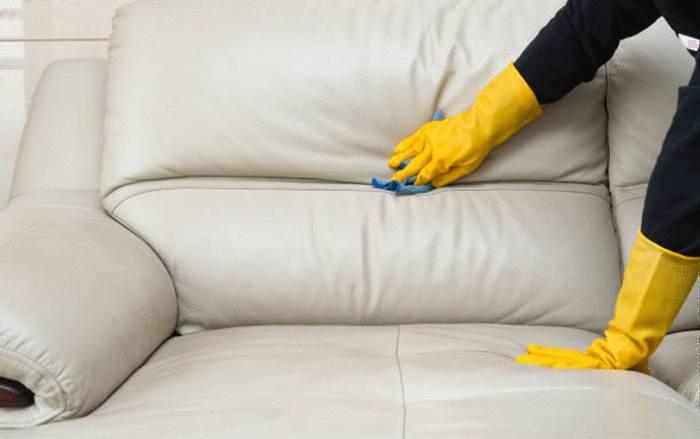 nettoyage entretien canapé simili cuir