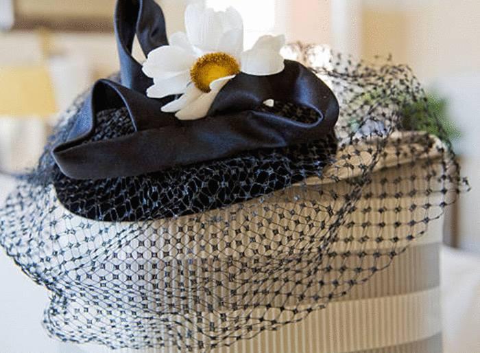 entretien chapeau mariage voilette