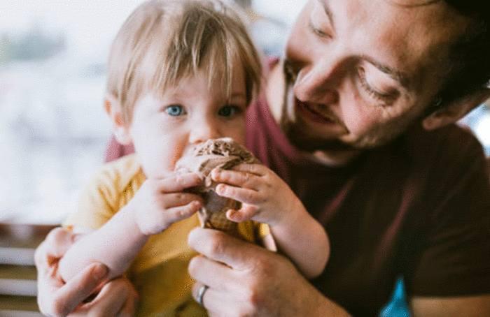 comment enlever une tache de glace de chocolat