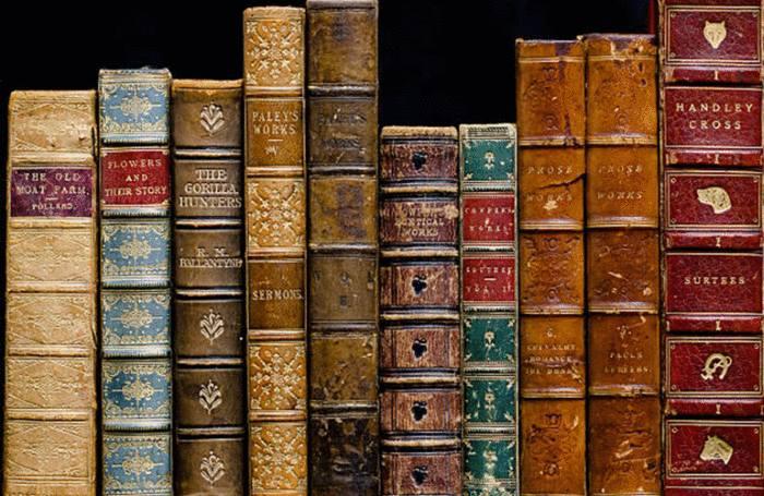 entretien des livres reliés