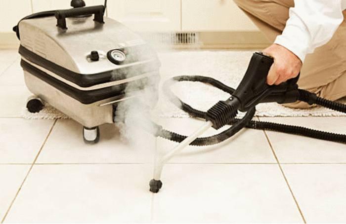 utilisation du nettoyeur vapeur