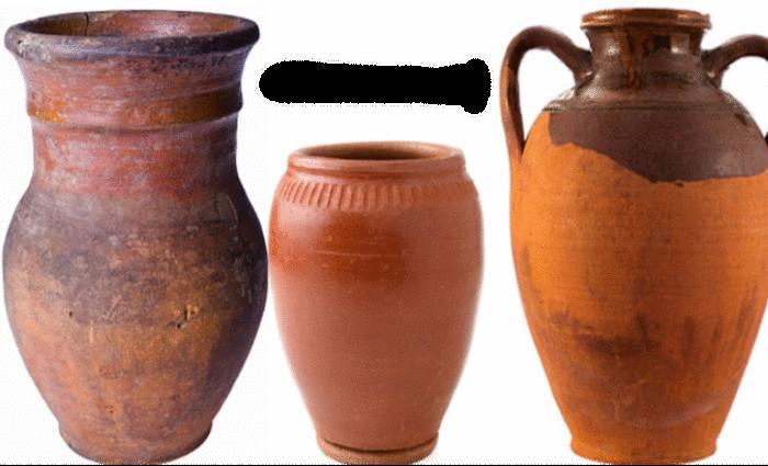 entretien des objets et pots en terre cuite