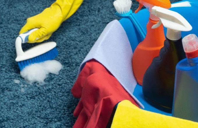 meilleure astuce pour nettoyer un tapis