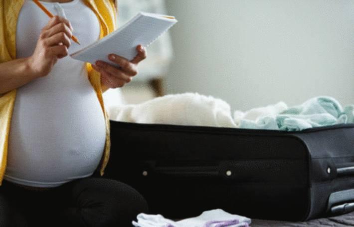 que mettre dans sa valise pour la maternité