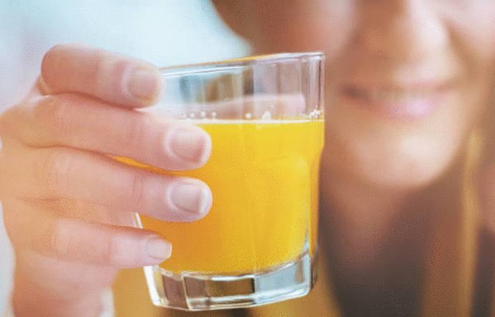 recette de jus de fruits frais