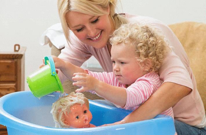 comment nettoyer une poupée