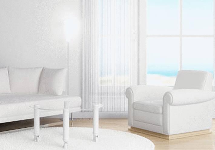 comment nettoyer un canapé ou un fauteuil en similicuir blanc