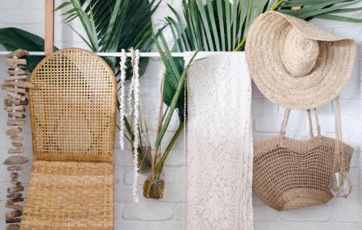 comment peindre le bambou, l'osier ou le rotin