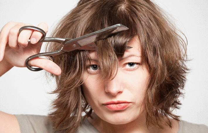 comment couper ses cheveux