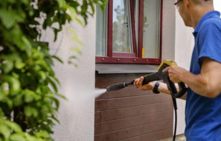 comment nettoyer un mur en crépi extérieur