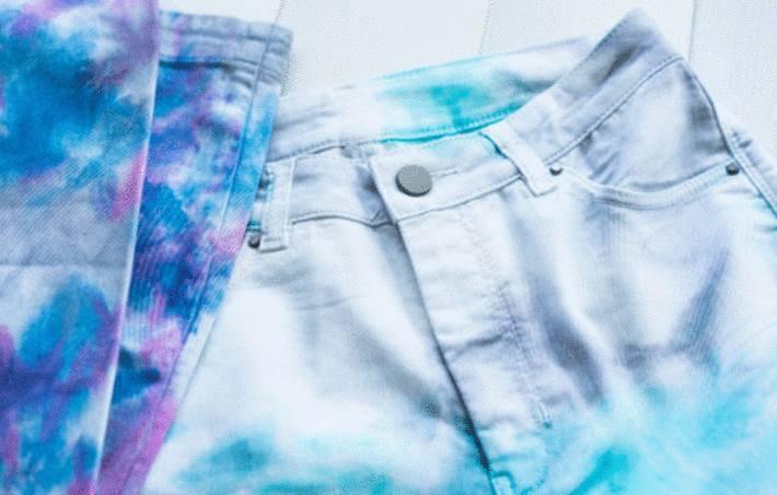 teindre ou decolorer son jean