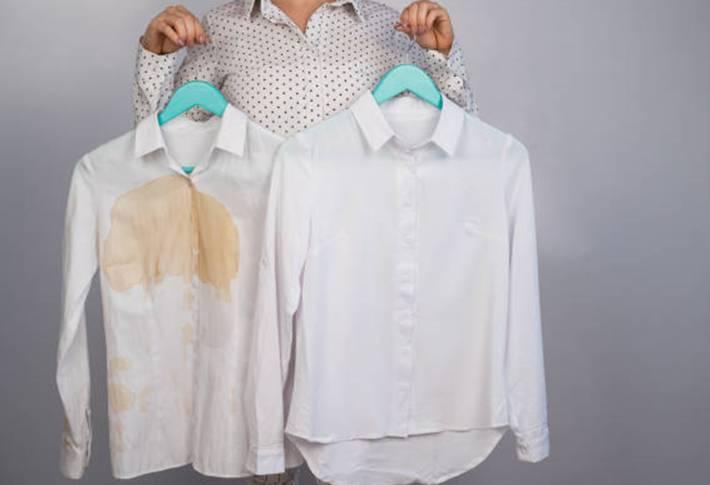 10 solutions pour nettoyer taches de gras sur un vêtement
