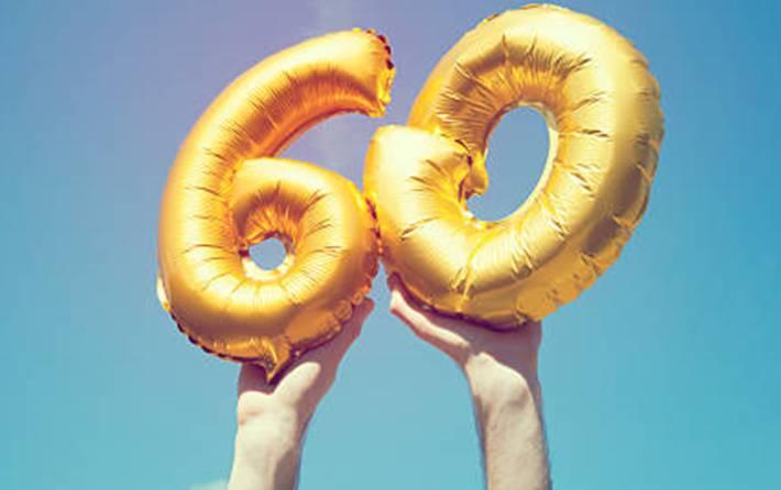 exemple de message pour souhaiter anniversaire 60 ans
