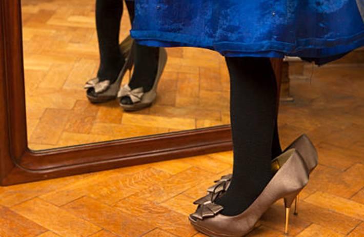 nettoyer et entretenir chaussures satin