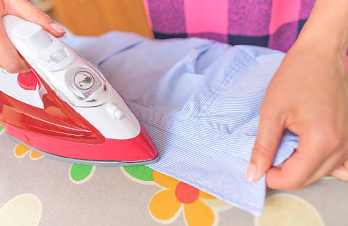 comment faire pour repasser une chemise