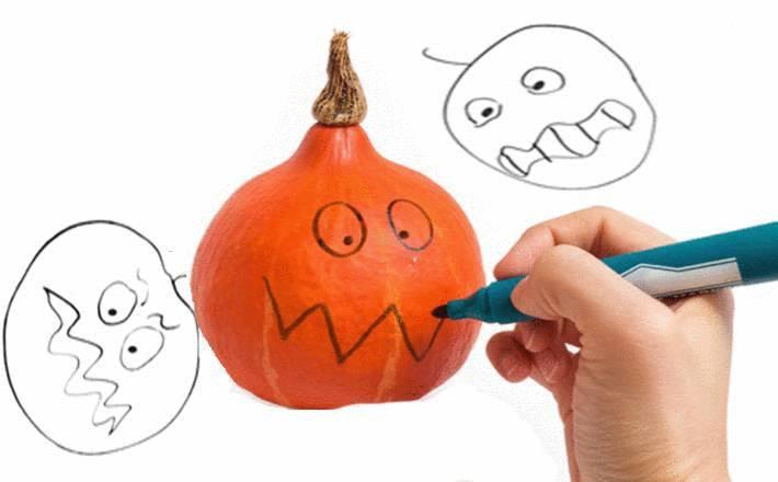 comment faire une citrouille halloween