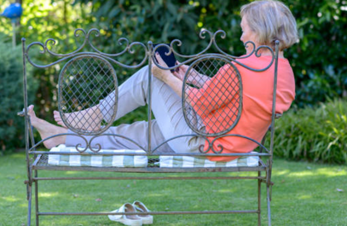 comment nettoyer meubles de jardin en métal peint