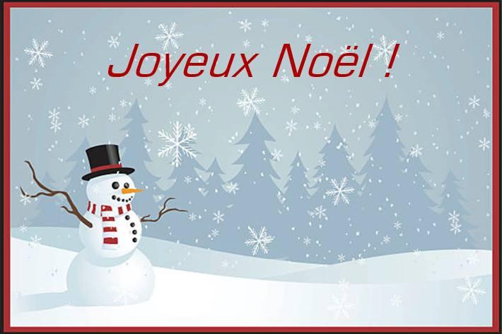 carte gratuite pour Noel