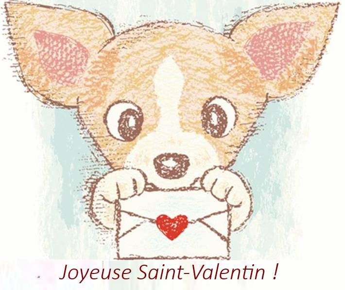 Exemple de message pour fêter saint-valentin