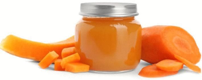 petit pot carotte et carotte qui tache