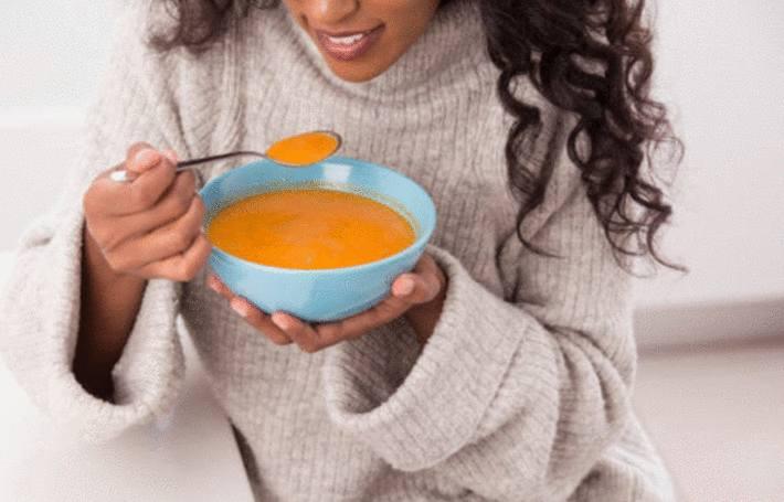 recette de potage d'hiver plat unique