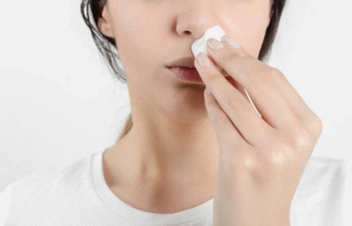 comment arreter un saignement de nez