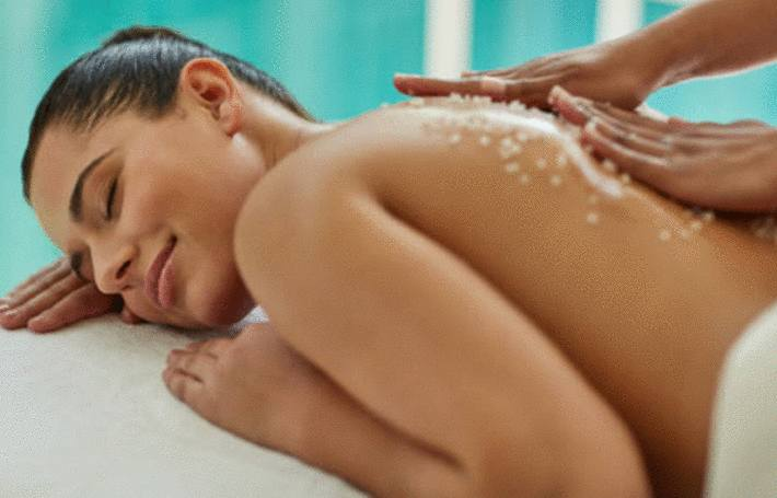 Massage au sel d'Epsom