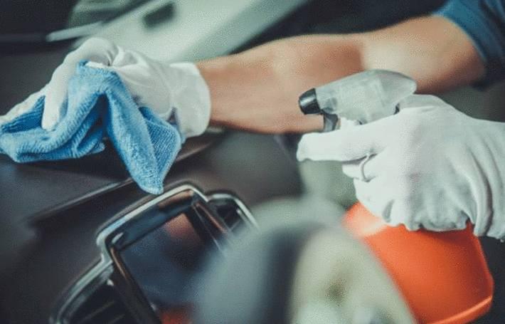 comment désinfecter voiture des virus