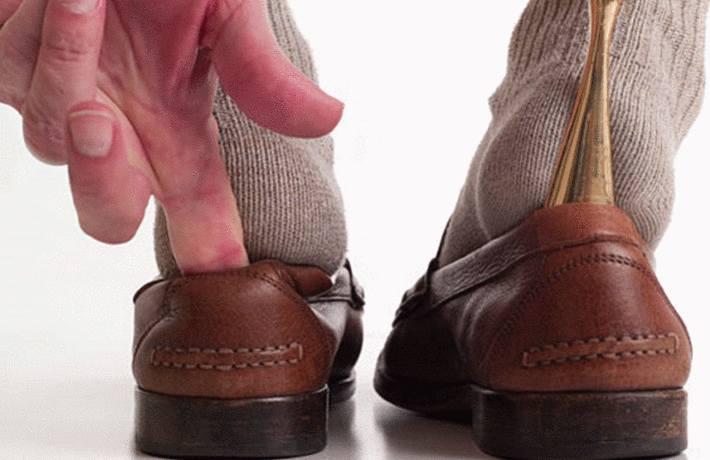 comment agrandir des chaussures en cuir