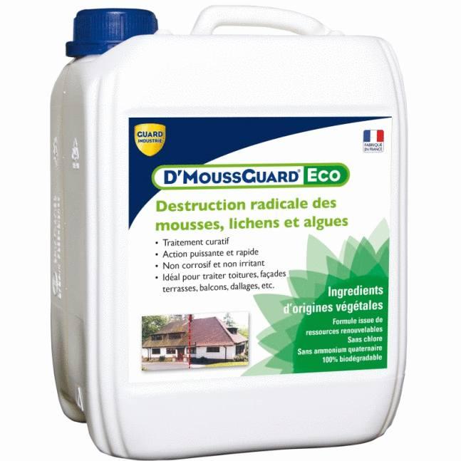 enlever la mousse sur les terrasses avec un anti mousse écologique