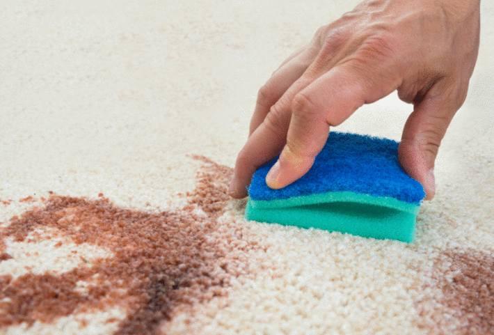 astuce pour nettoyer un tapis