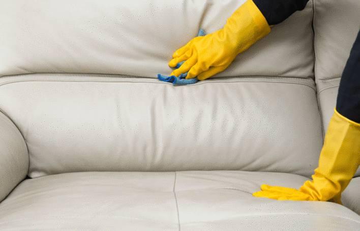 astuce pour enlever tache sur canapé cuir