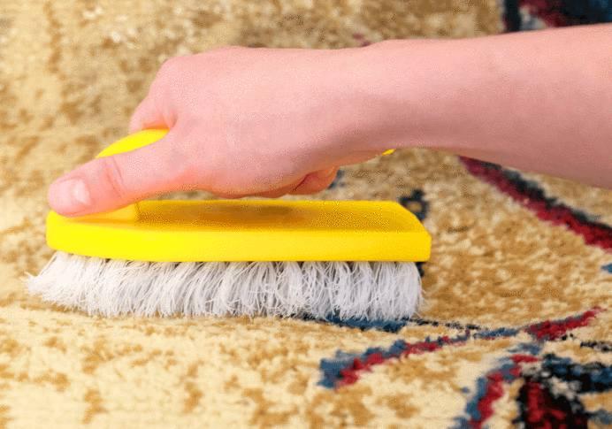 comment laver un tapis