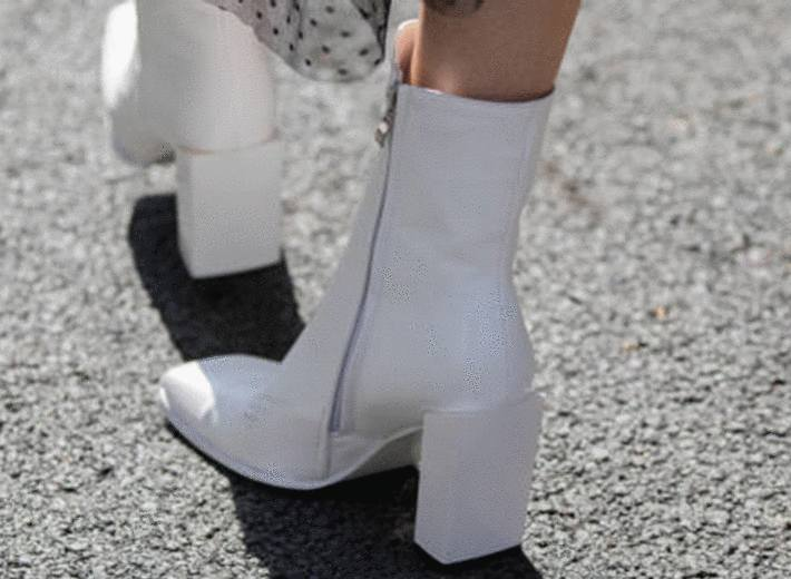 comment nettoyer chaussures en cuir blanc