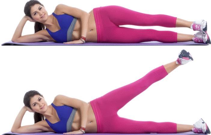 exercice pour affiner les hanches