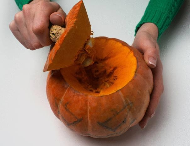 9 étapes pour transformer une citrouille pour halloween