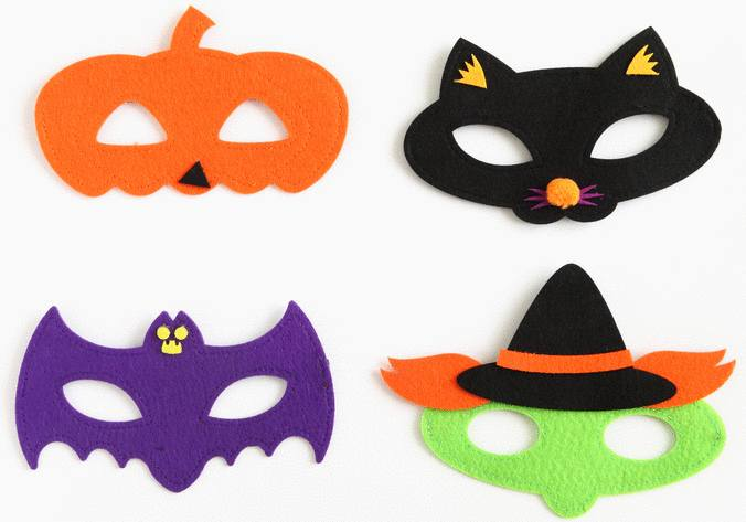 halloween astuce déguisement enfant