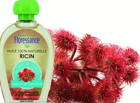 huile de ricin pour la beauté de la peau, des sourcils et des cheveux