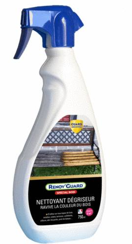 produit nettoyant pour le teck