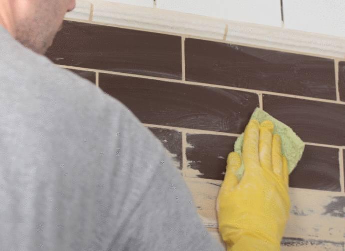astuce pour nettoyer carrelage après pose de joint