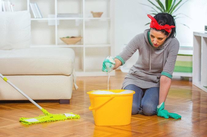 comment nettoyer et entretenir le parquet ciré