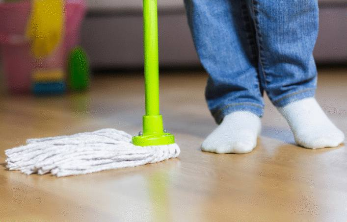 astuce nettoyage lino