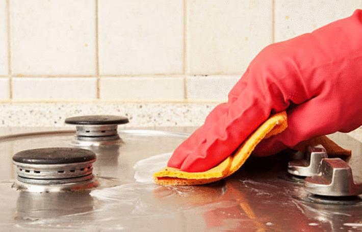 comment nettoyer une plaque de cuisson inox